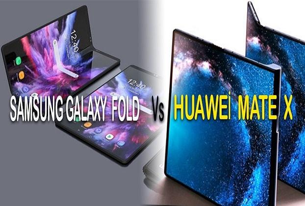 samsung galaxy fold vs huawei mate 20 X