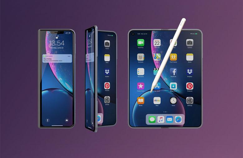 Katlanabilir iPhone Fold X