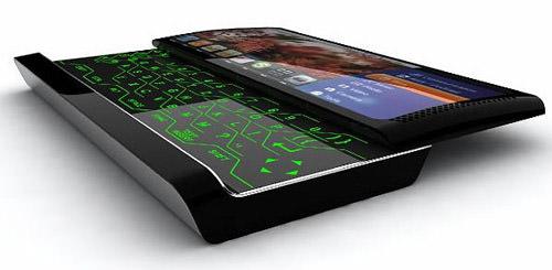 multimedia konsept telefon